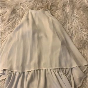 Charlotte Russe Pants - XL white romper from Charlotte Russe